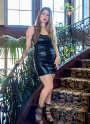 Danielle FTV Back In Black Picture 1