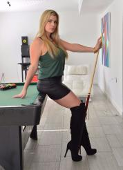 Danielle FTV Pool Table Dp Picture 1